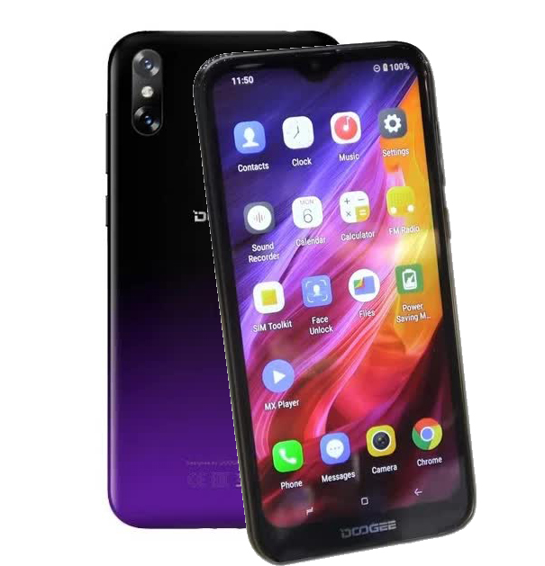 Смартфон Doogee X90L Phantom Purple смартфон