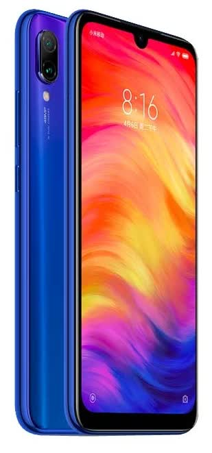 Фото - Смартфон Xiaomi Redmi Note 7 4/64Gb Neptune Blue смартфон xiaomi redmi note 5 64 гб розовое золото redmi note5 64gb rg