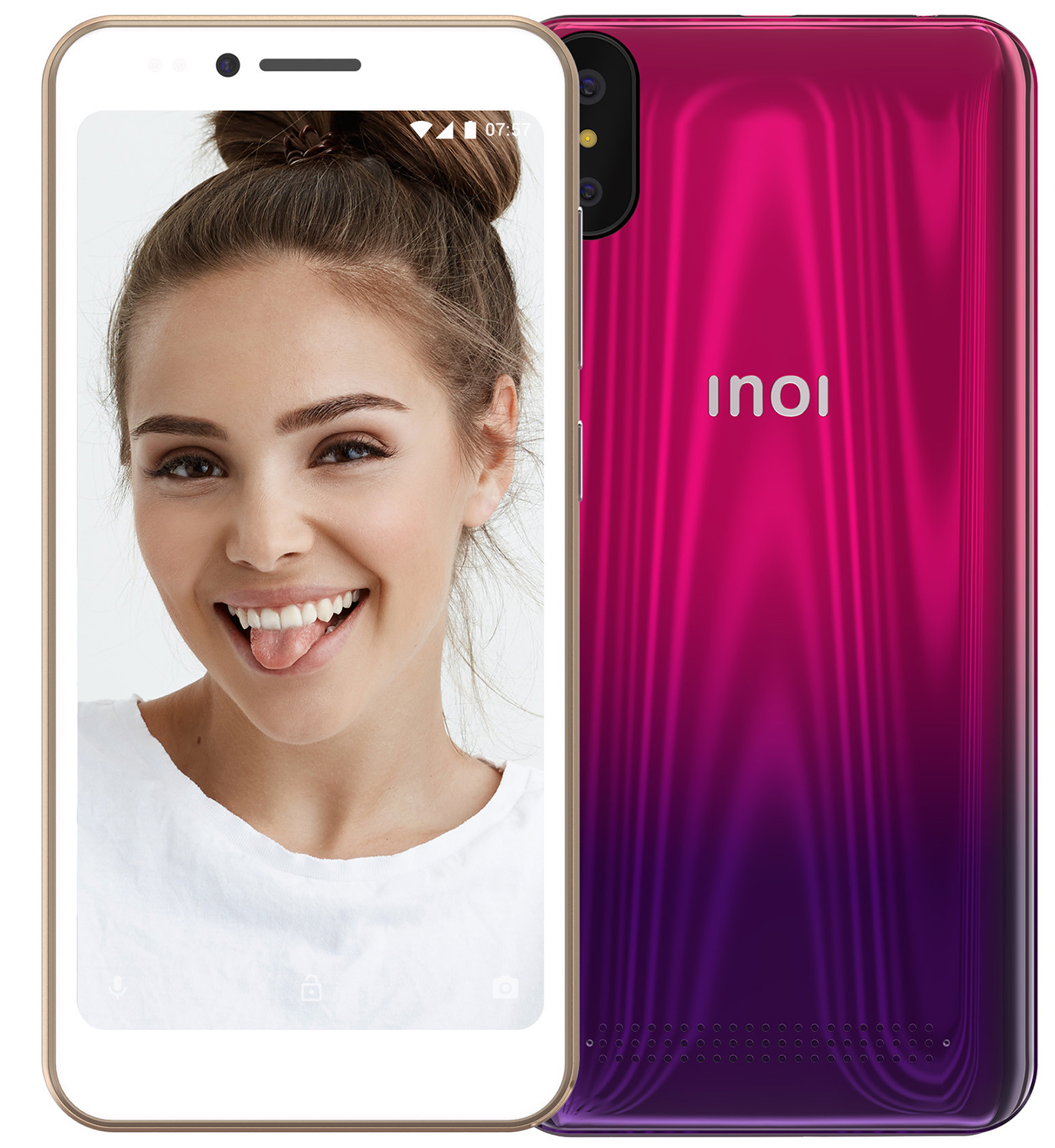 Смартфон INOI 3 Twilight Pink смартфон inoi 2 twilight green
