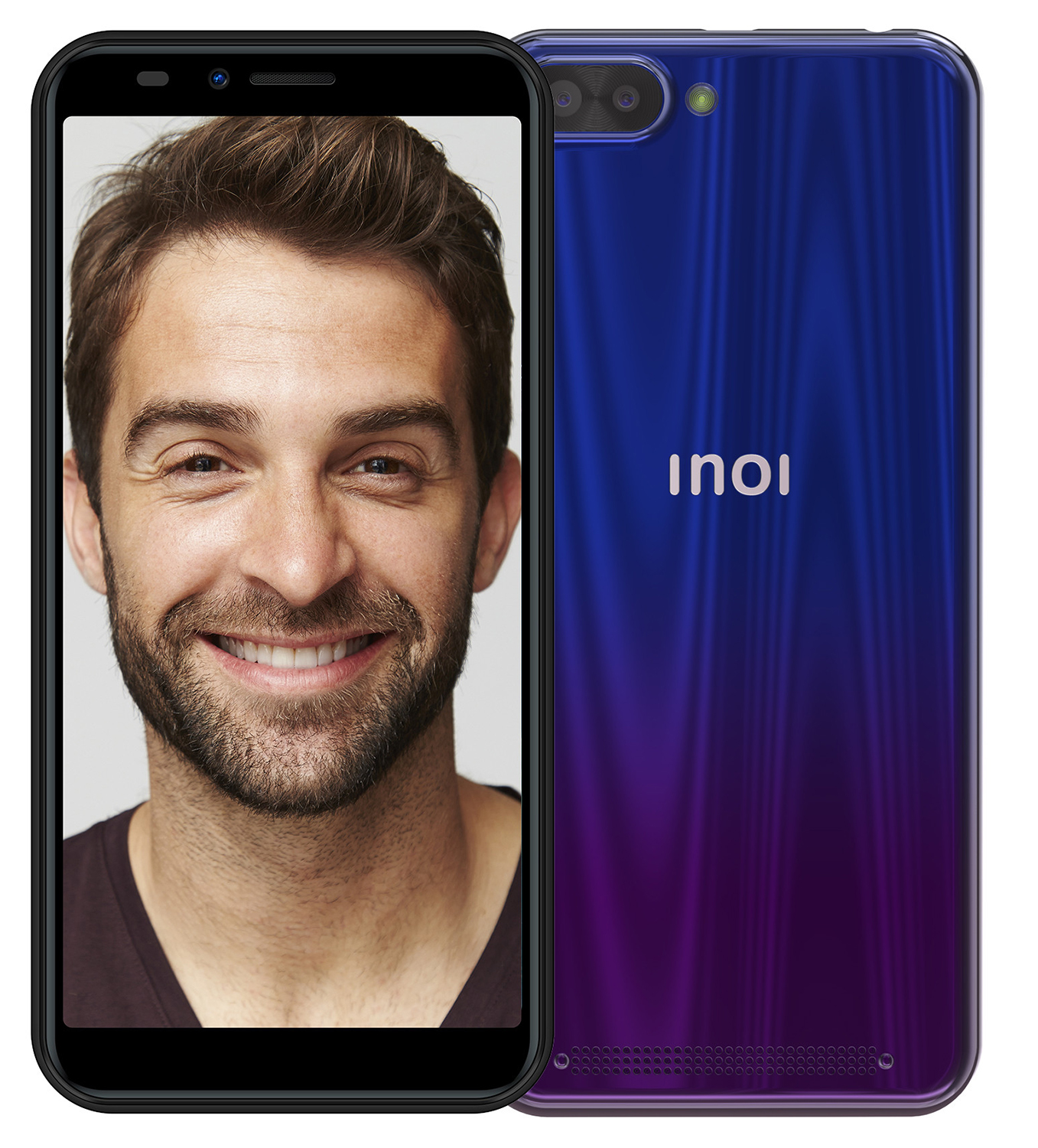 Смартфон INOI 5i Lite Twilight Blue смартфон inoi 2 twilight green