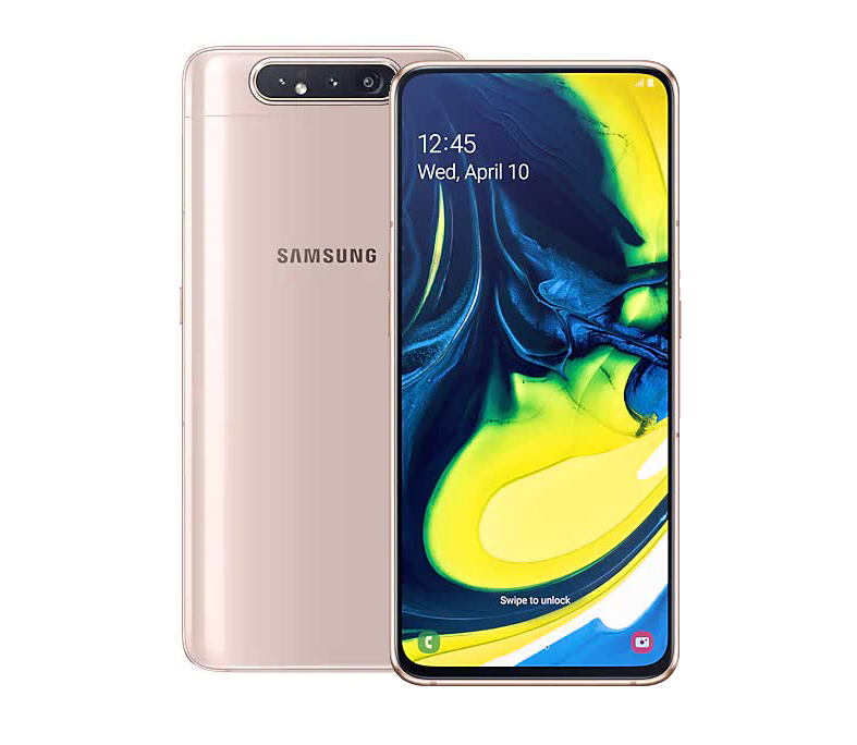 Смартфон Samsung Galaxy A80 128Gb 8Gb A805F Gold