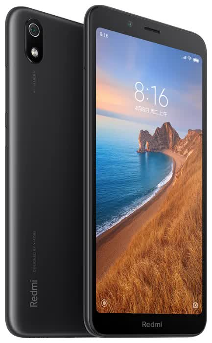 Смартфон Xiaomi Redmi 7A 2/16Gb Matte Black смартфон