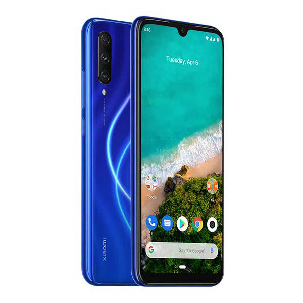 Смартфон Xiaomi Mi A3 4/64GB Blue рюкзак xiaomi mi mini backpack 10l light blue