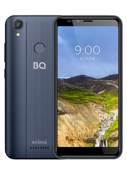 Смартфон BQ 5530L Intense LTE Dark Blue смартфон