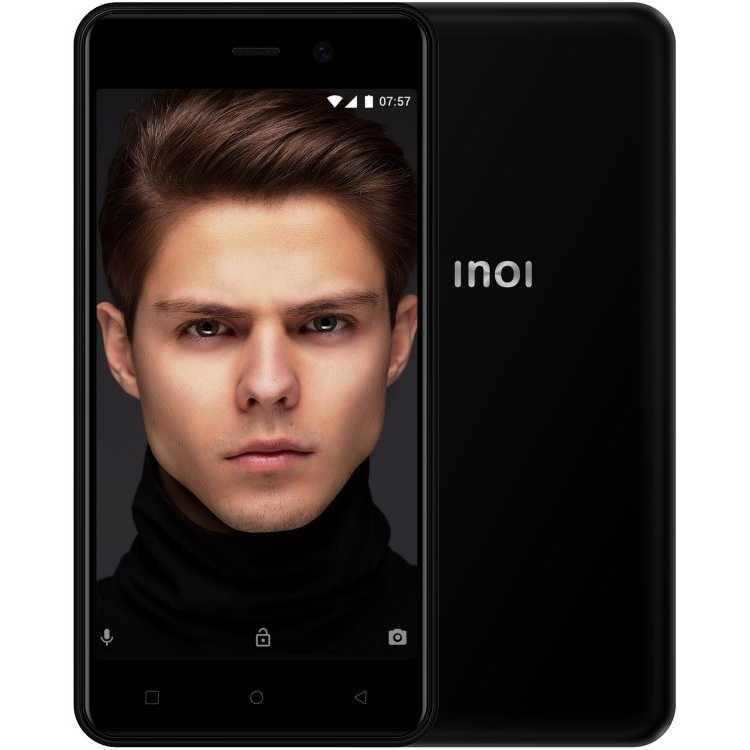 Смартфон INOI 2 LITE 2019 4GB BLACK
