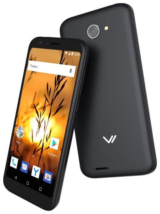 Смартфон Vertex Impress Sunset NFC Black смартфон vertex impress luck 8gb черный