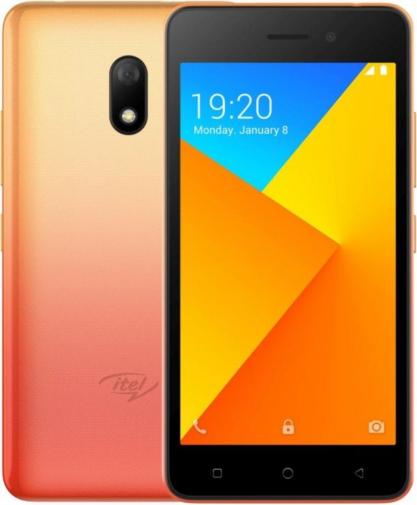 Смартфон Itel A16 Plus DS Sunglow Gold