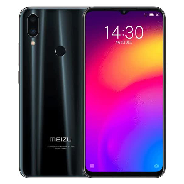 Смартфон Meizu Note 9 4/128Gb Black цена и фото