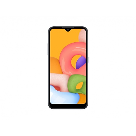 Смартфон Samsung Galaxy A01 16Gb SM-A015FZKDSER Black - фото 2