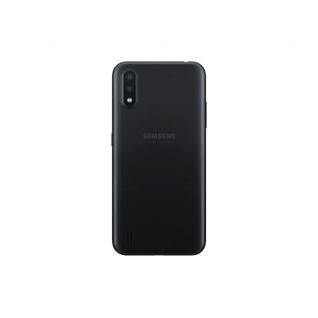 Смартфон Samsung Galaxy A01 16Gb SM-A015FZKDSER Black - фото 3
