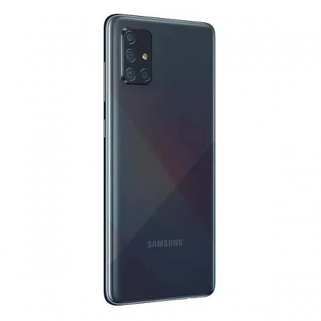 Смартфон Samsung Galaxy A71 A715F 128Gb Black - фото 4