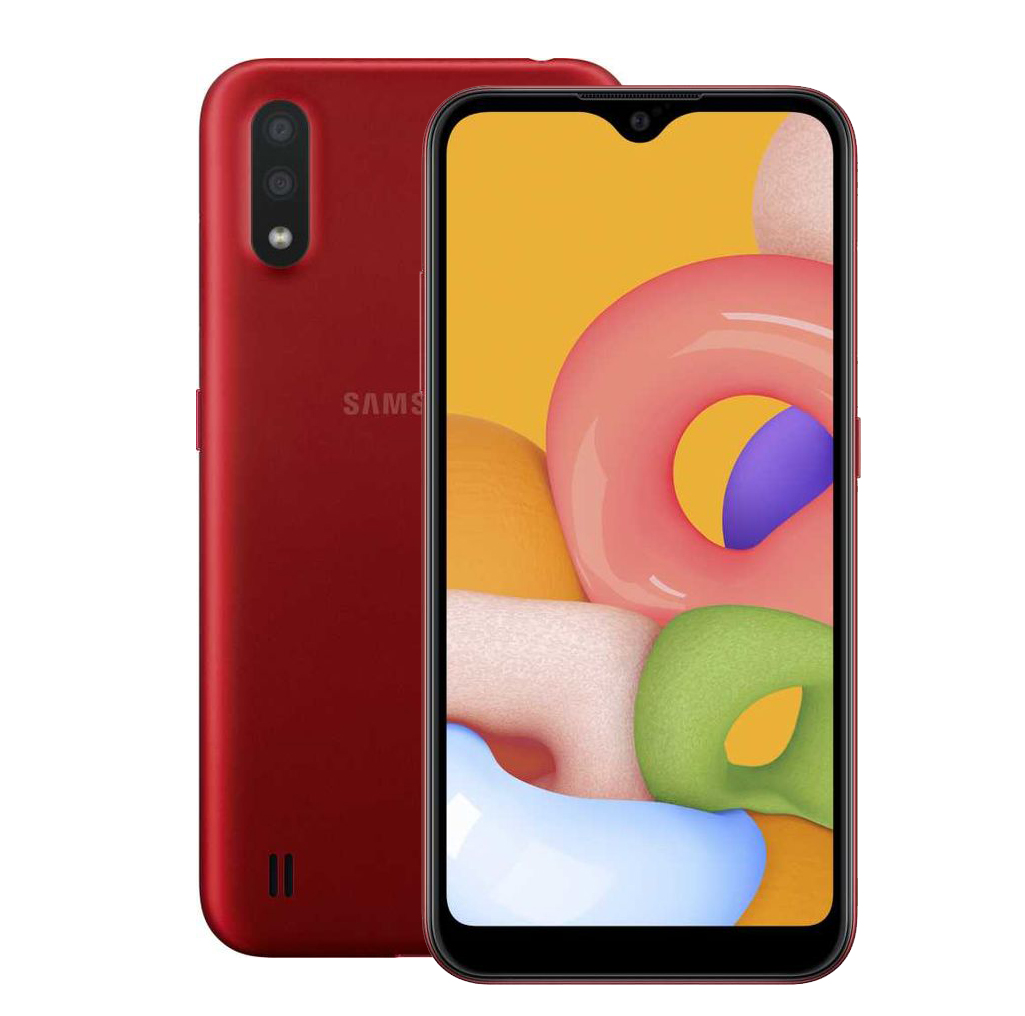 Смартфон Samsung Galaxy M01 32Gb SM-M015F Red