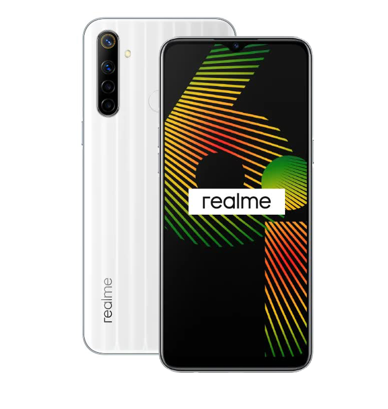 Смартфон Realme 6i 4/128Gb White Milk