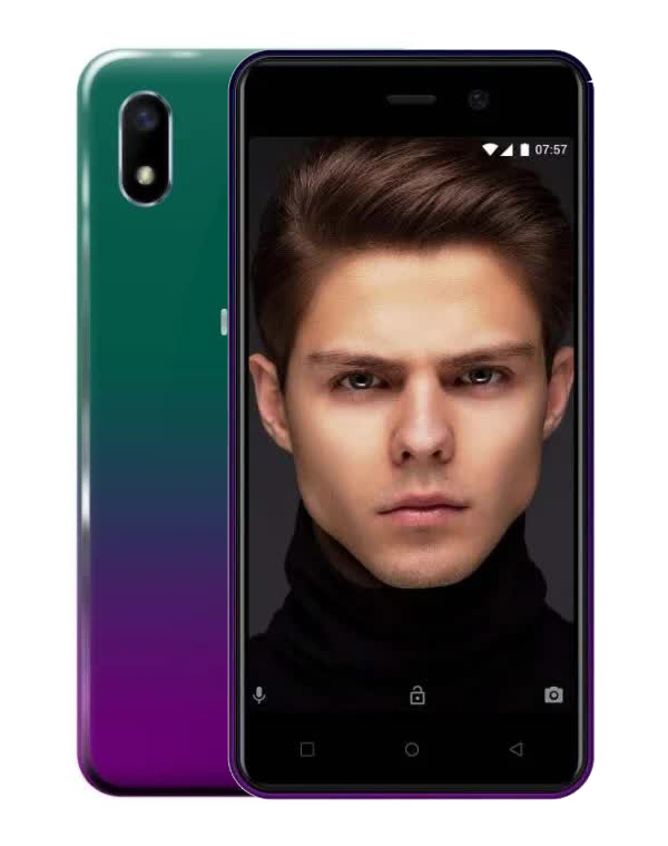 Смартфон INOI 2 Lite 8GB 2019 Purple Green смартфон inoi 1 lite gold