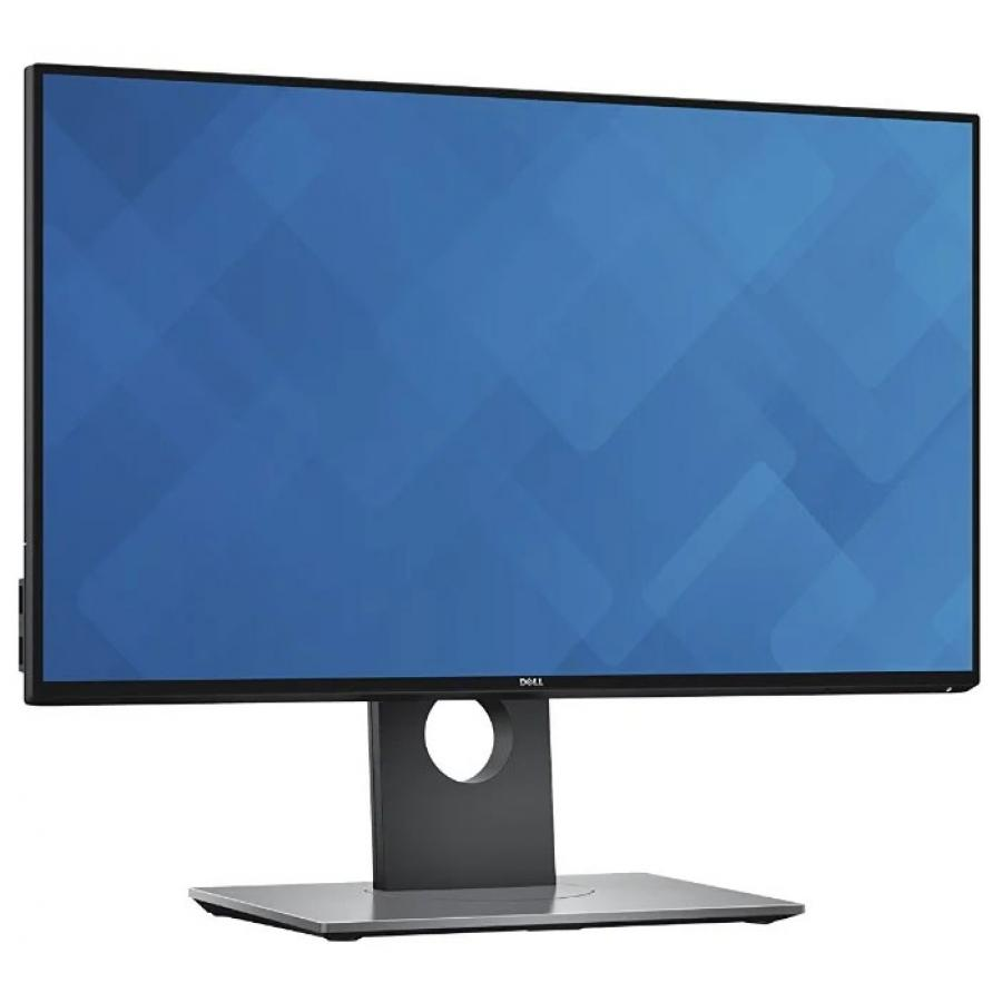 Монитор Dell 23.8 UltraSharp U2417H черный монитор dell u2417h white