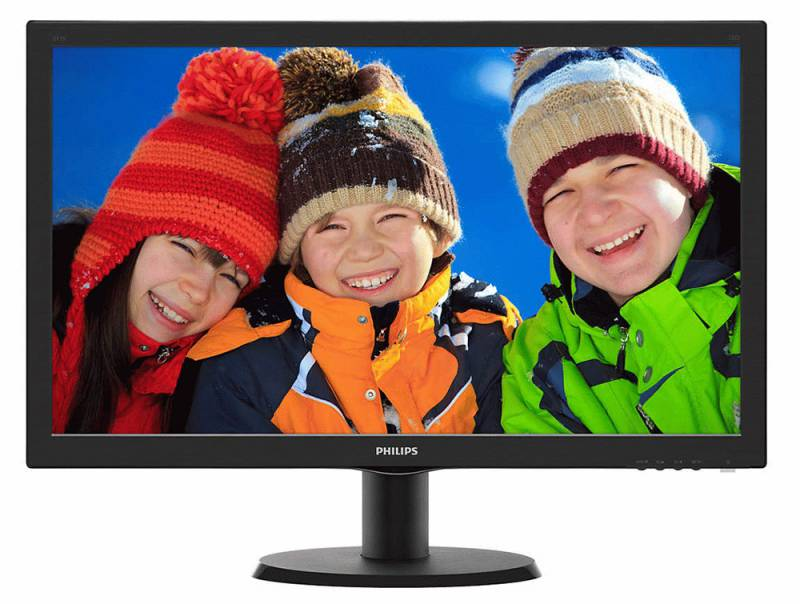 Монитор Philips 23.6 243V5QHABA/00 Black монитор philips 241b8qjeb 00 black