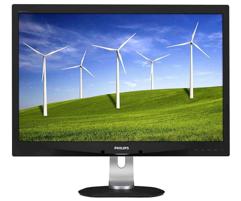 Монитор Philips 24 240B4QPYEB (00/01) черный