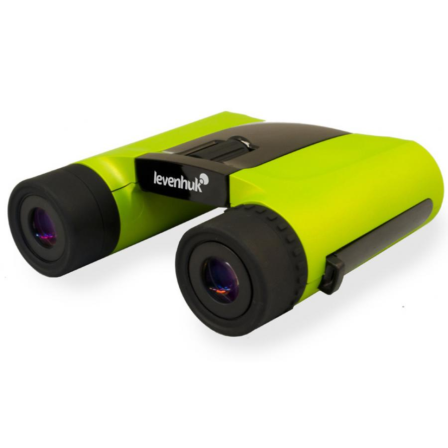 Бинокль Levenhuk Rainbow 8x25 Lime бинокль bushnell powerview roof 10х25 камуфляж