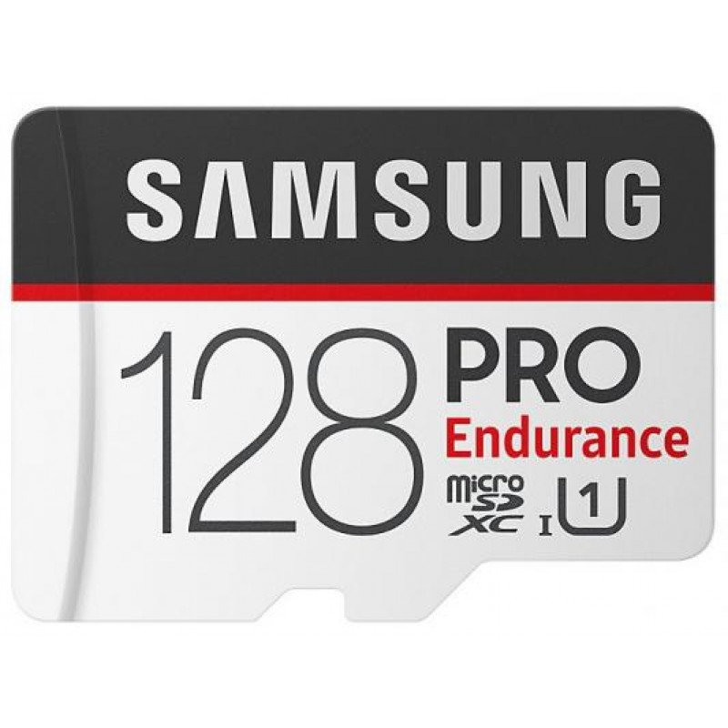 Карта памяти Samsung microSDHC PRO Endurance 128Gb+SD adapter (MB-MJ128GARU)