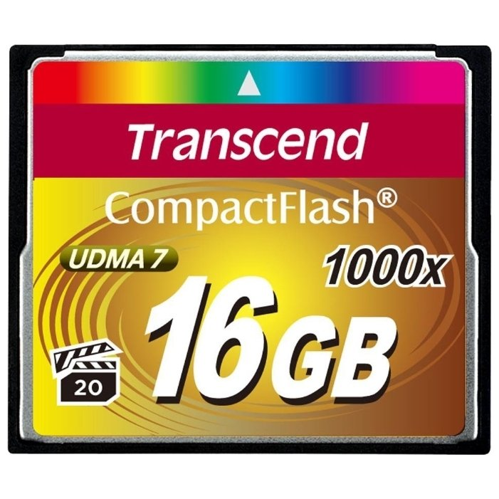 цена на Карта Памяти CF 16Gb Transcend 1000X (160/120 Mb/s)