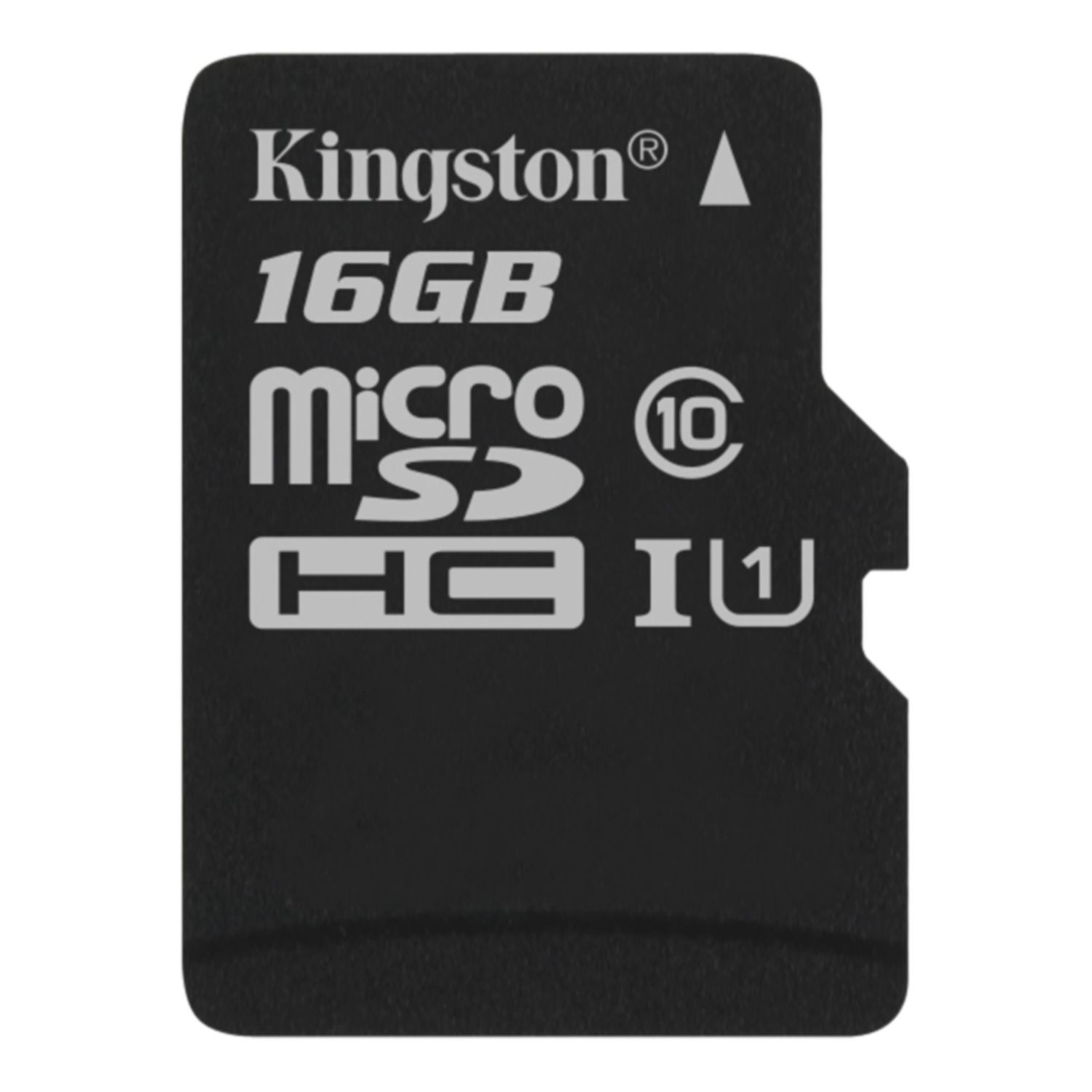 Карта Памяти micro SDHC 16Gb Kingston Canvas Select UHS-I (80/10 Mb/s) цена