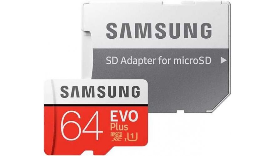Фото - Карта памяти Samsung microSDXC 64Gb Evo Plus 100/20Mb/s U1 (MB-MC64HA/RU) карта памяти samsung 64gb evo plus v2 microsdxc class 10 u1 sd adapter mb mc64ha