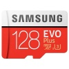 Карта памяти Samsung microSDHC EVO+ 128Gb+SD adapter (MB-MC128HA...