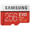 Карта памяти Samsung microSDHC EVO+ 256Gb+SD adapter (MB-MC256HA...