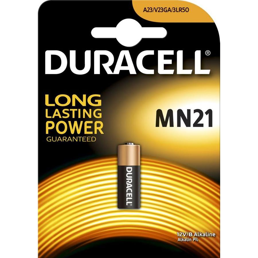 Батарейка A23 Duracell MN21 (1шт) батарейки duracell mn21 b1 security 12v alcaline