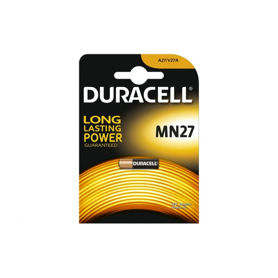 Батарейка MN27 Duracell (1шт) батарейки duracell mn27 b1 security 12v alkaline