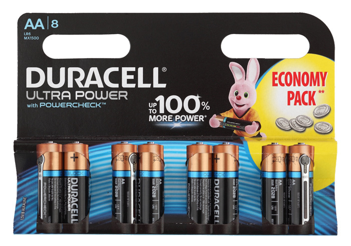 Батарея Duracell Ultra Power LR6-8BL MX1500 AA (8шт) цены