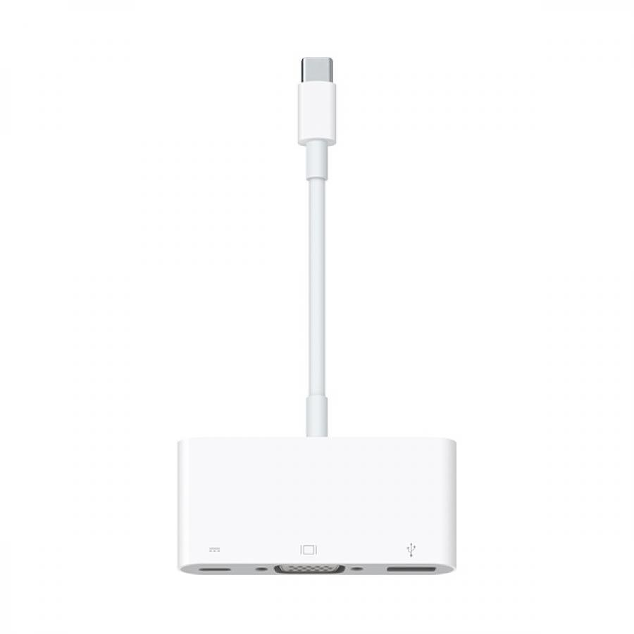 Адаптер APPLE USB-C VGA Multiport Adapter MJ1L2ZM/A адаптер apple usb c digital av multiport adapter mj1k2zm a