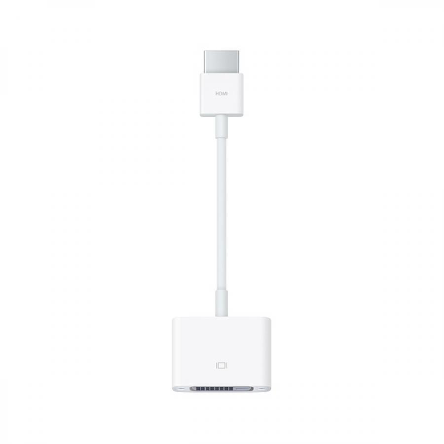 Кабель интерфейсный Apple HDMI to DVI Adapter Cable MJVU2ZM/A адаптер hdmi dvi dell 492 11681