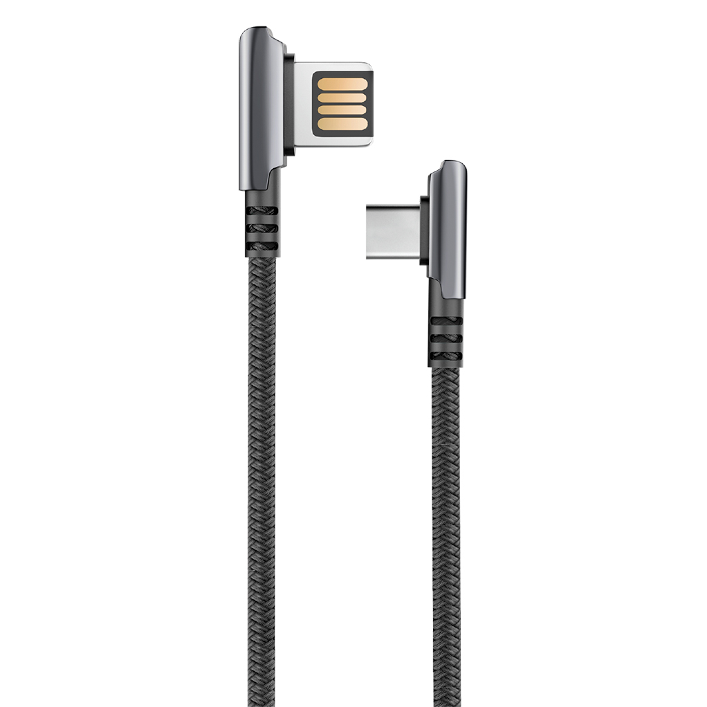 Кабель OLMIO HANDY USB 2.0 - Type-C 1.2м 2.1A черный кабель