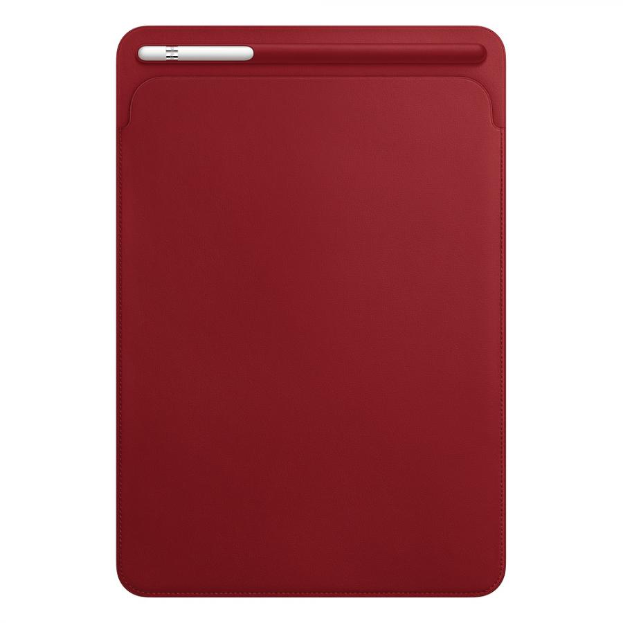 Кожаный чехол-футляр Apple Leather Sleeve для iPad Pro 10,5 дюйма PRODUCT RED MR5L2ZM/A apple mk0c2zm a pencil для ipad pro white