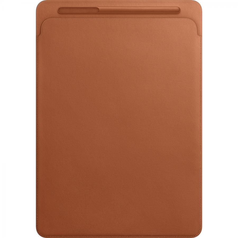 Кожаный чехол-футляр Apple Leather Sleeve для iPad Pro 12,9 дюйма Saddle Brown MQ0Q2ZM/A apple mk0c2zm a pencil для ipad pro white