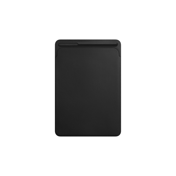 Чехол Apple Leather Sleeve for iPad Pro/Air 10.5 (MPU62ZM/A) Black